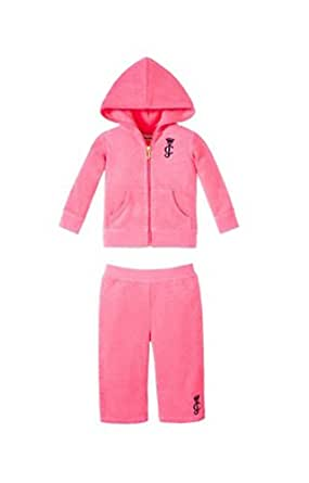 Juicy Couture Terry Tracksuit in Passion Pink-24mo