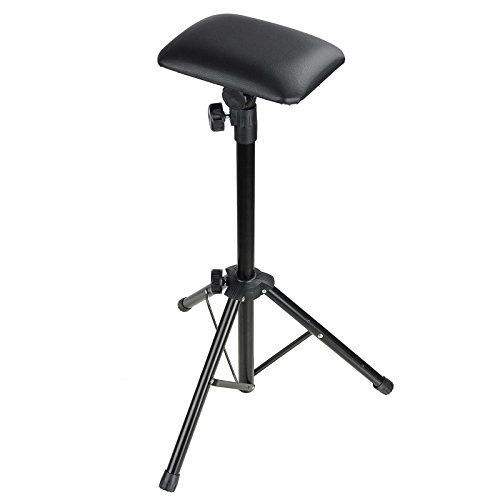 aw-tattoo-armrest-foldable-foam-pad-arm-bar-leg-rest-studio-stand-adjustable-height-pvc-leather