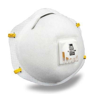3M N95 Particulate Sanding Welding Respirator Dust Mask 8515/07189 Box Of 10