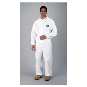Chemical-Resistant Coverall, Elastic, XL
