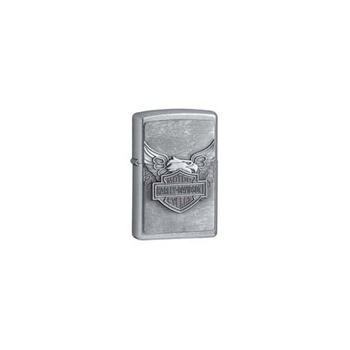 Zippo Harley Davidson Iron Eagle Emblem Street Chrome Lighter