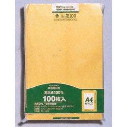 100 pieces of PK-128 Maruay Office kraft envelope square No. 2