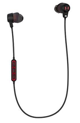 【国内正規品】UA Headphones Wireless – Engineered by JBL アンダーアーマー JBLコラボレーション Bluetooth搭載 IPX5対応 ワイヤレススポーツイヤホン ブラック UAJBLWIRELESSB
