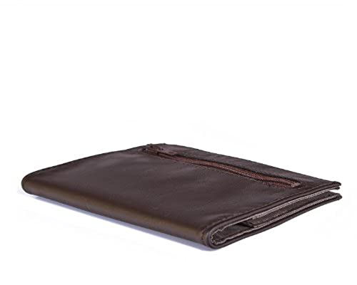 14. Leather Coin Pocket Wallet