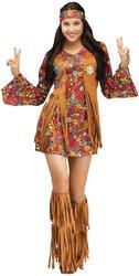 Peace (Faux Suede Hippie Vest Adult Costumes)