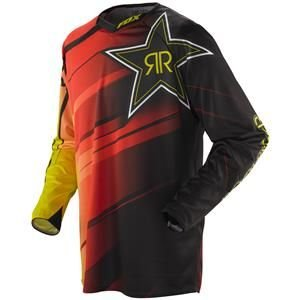 Fox Racing 360 Rockstar Blur Jersey - 2X-Large/Yellow