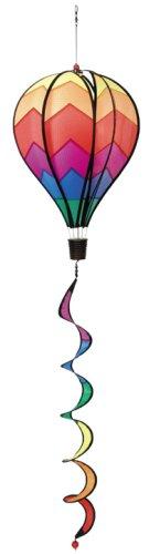 Windspiration Hot Air Balloon Twist Garden Wind Spinner, Sunrise