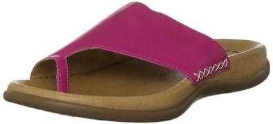 Gabor Women's Lanzarote Cyclam Open Toe Flats 43.700.44 3 UK