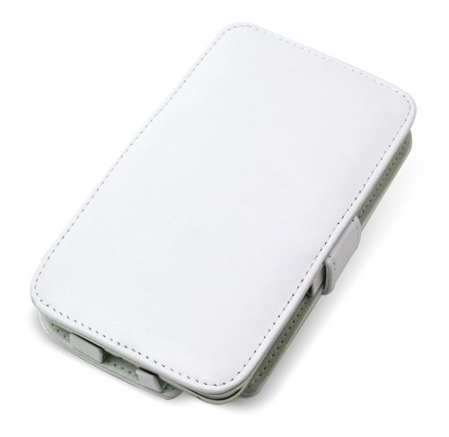 PDAIR レザーケース for GALAXY Note SC-05D 横開きタイプ(ホワイト) PALCSC05DB/WH