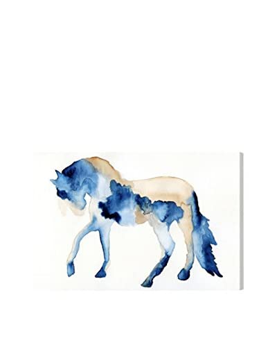 Oliver Gal 'Beau Cheval Bleu II' Canvas Art