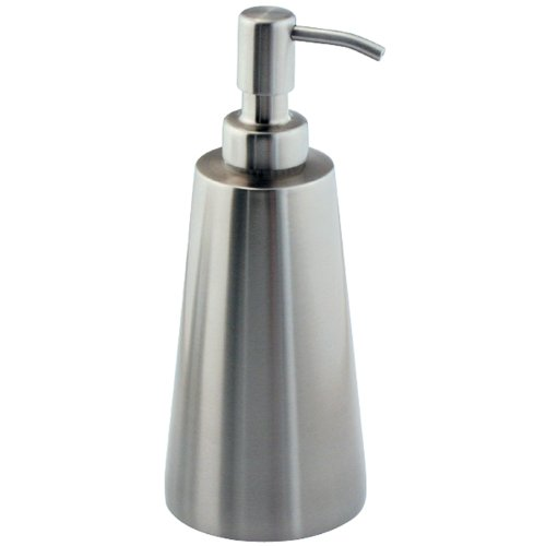 InterDesign Forma Koni Soap Pump, Brushed Stainless Steel