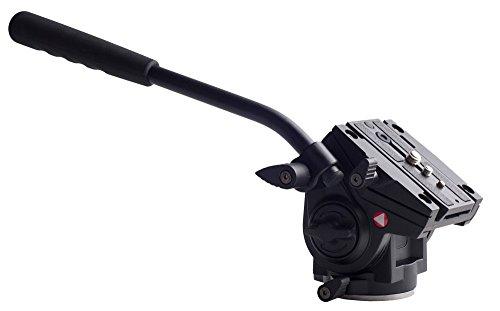 Kingjoy professionnel VT-3510 la tête tête fluide vidéo Flatbase vidéo