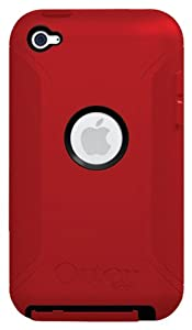 OtterBox Defender Series Hybrid Case for iPod touch 4G (Black/Red) (Discontinued by Manufacturer)