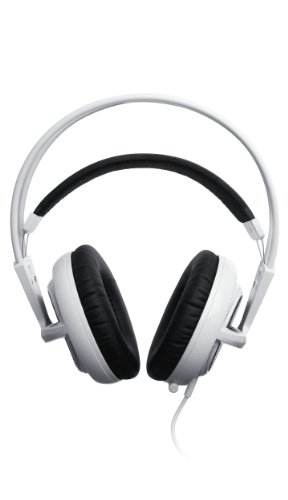 Steelseries Siberia V2 Full-Size Headset For Ipad, Ipod, And Iphone (White)