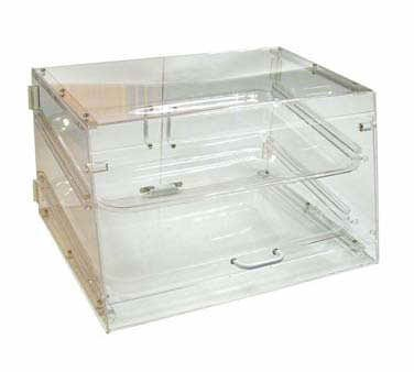 Winco ADC-2 2-Tier Pastry Display Case, Acrylic (Bakery Countertop Display compare prices)