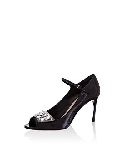 miu miu Peep Toe Mary Jane