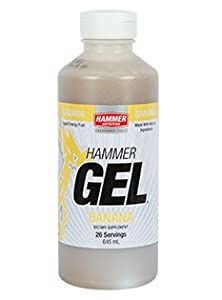 Hammer Nutrition Hammer Gel 26 Serving Plus Free 5oz HAMMER Flask (Banana)