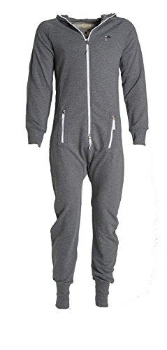 eron-apparel-herren-trainingsanzug-silber-sport-grigio-xxl