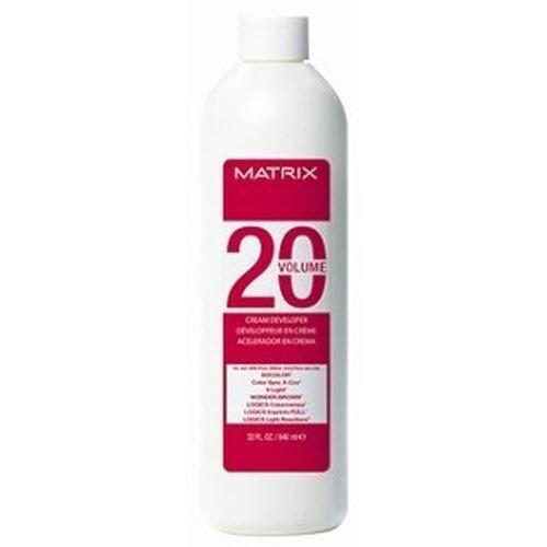 Matrix Socolor Cream Developer 10, 20, 30, 40 Volume (20 volume) by Matrix [Beauty] (Matrix Cream Developer 20 compare prices)