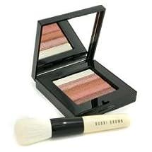 Bobbi Brown by Bobbi Brown Bronze Shimmer Brick Set: Bronze Shimmer Brick Compact + Mini Face Blender Brush ( Limited Edition ) --2pcs ( Package Of 5 )