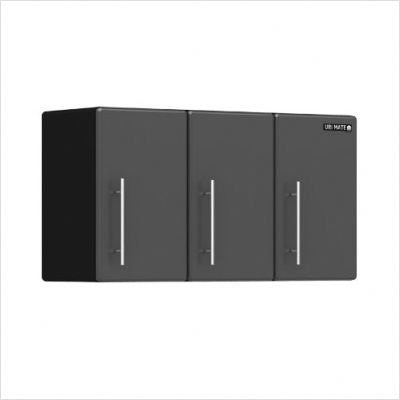 Ulti-MATE 35.5 in. Garage Partitioned Wall Cabinet with Adjustable Shelf