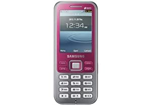 Samsung Metro Duos GT C3322i Pink Color available at Amazon for Rs.3445