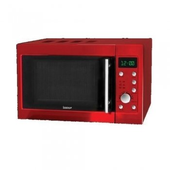 Igenix IG2940 800w 20l Digital Microwave - Metallic Red
