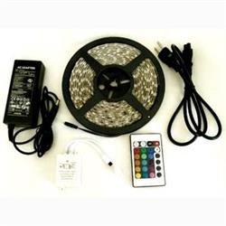 U-Camp (LED90RGB02) LED Light Strip with Remote, 10'