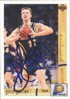Detlef Schrempf Indiana Pacers 1992 Upper Deck Autographed Hand Signed Trading Card. by Hall+of+Fame+Memorabilia