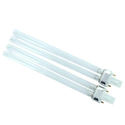 2Pcs 11W G23 Base Uv Light Bulb Aquarium Uv Sterilizer Lamp--Great For Your Aquarium, Refrigerator, Air Purifier, Micro-Wave Oven, Etc