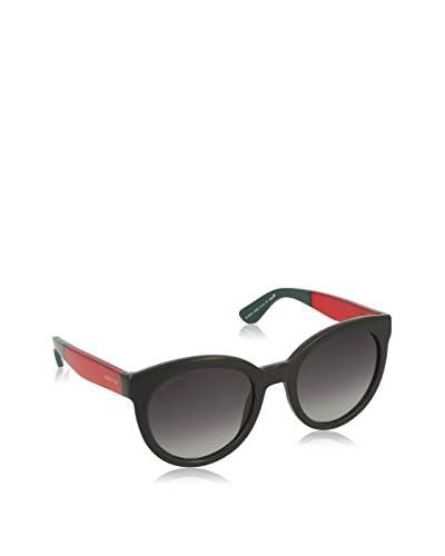Gucci Occhiali da sole 3810/S 9O (53 mm) Nero/Rosso