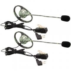 Avph7 2-Way Radio Accessory (Outfitters Camo Gmrs Headset With Microphone & Ptt, 2 Pk)