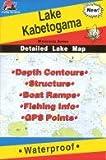 Search : Fishing Hot Spots Map of Lake Kabetogema