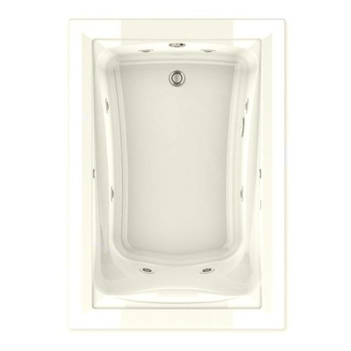 American Standard 3574048Wck2.222 Green Tea Ecosilent Whirlpool Bath Tub, 5-Feet By 42-Inch, Linen