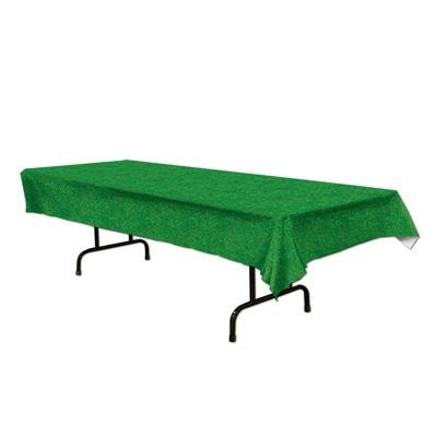 grass table cover from Beistle