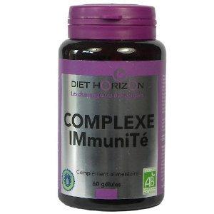 Diet Horizon Organic Mushroom Complex for the Immune System, 60 vcaps