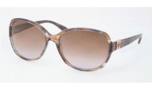 Tory Burch Tory Burch Sunglasses - TY7033 / Frame: Blue Brown Tort Lens: Brown Plum