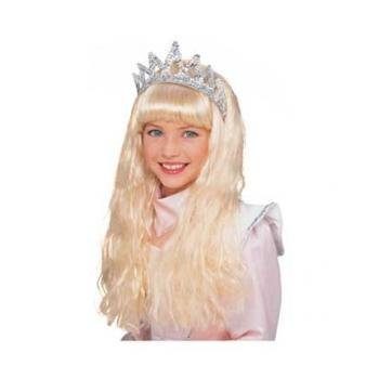 Rubie's Costume Crystal Princess Wig, Blond, One Size - 1