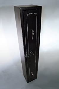 DELUXE MODEL 3 GUN SHOTGUN CABINET NEW RIFLE GUNS SAFE APPROVED WITH 7-LEVER LOCKS - -a50