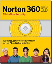 Norton 360 Version 3.0 All-in-one Security Suite, 3-User