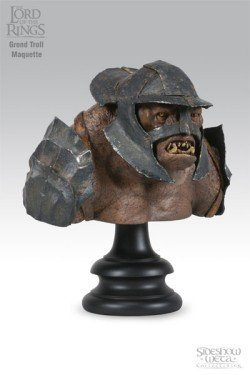 Picture of Sideshow Grond Troll Maquette from Lord of the Rings Figure (B000BWA49E) (Sideshow Action Figures)