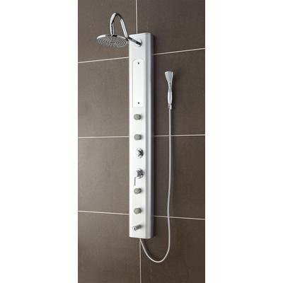 Fresca Venezia PVC Silver Shower Massage Panel