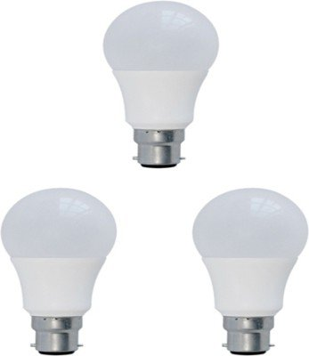 Syska 3W Plastic LED Bulb (White, Pack of 3)
