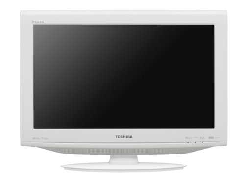 【エコポイント対象商品】 TOSHIBA LED REGZA 22V型 地上・BS・110度CSデジタルハイビジョン液晶テレビ ホワイト 22RE1(W)