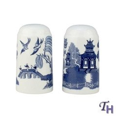 Johnson Brothers Willow Blue Salt and Pepper Set