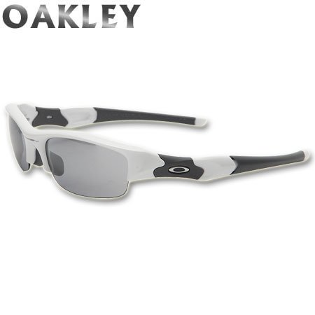 OAKLEY(オークリー)FLAK JACKET(フラックジャケット) Polished White/Slate Iridium 03-882J