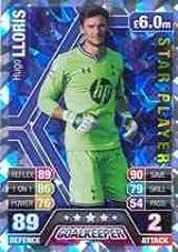 Match Attax 2013/2014 Hugo Lloris Tottenham Star Player 13/14