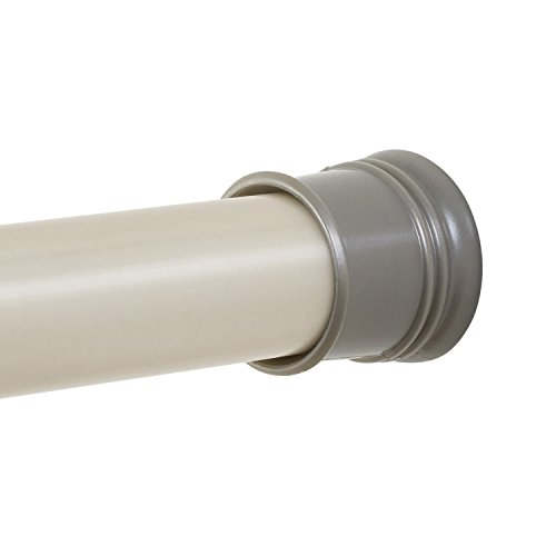 """Twist Tight Tension Shower Curtain Hold Rod 43"""" X 72"""