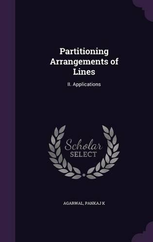 Partitioning Arrangements of Lines: II. Applications