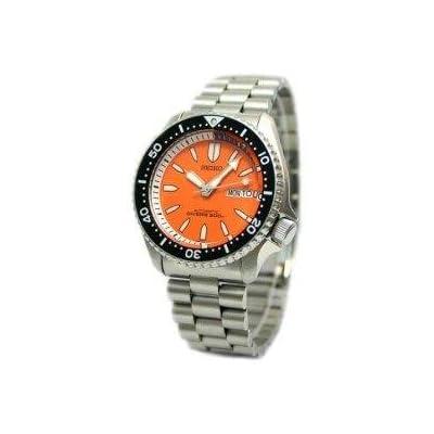 Amazon.com: Seiko Orange Automatic Dive Watch SKXA55K1: Seiko